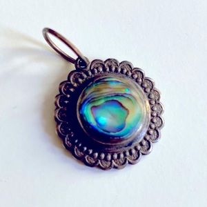 Vintage mother of pearl pendant